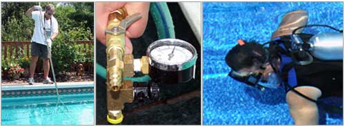 Tips for finding and fixing leaks in your pool.