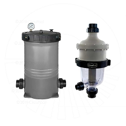 CircuPool® TWO-STAGE FILTER SYSTEM (CJ-Series Filter and TJ-16 Pre-Filter)