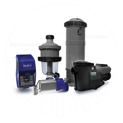 CircuPool® Ultimate Combo  (Salt Chlorinator + Pump + Filtration)