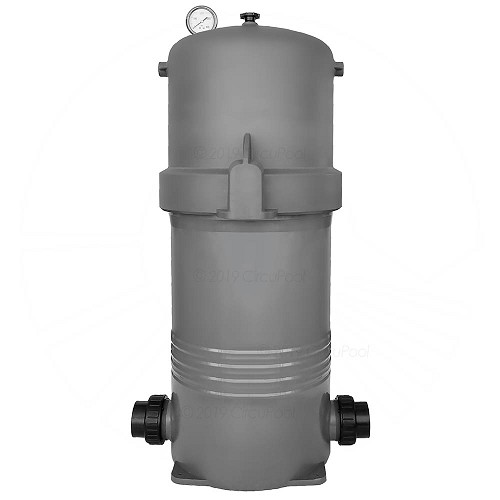 Compact, heavy-duty construction and corrosion-free filter body