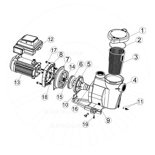 See Item 7 in SmartFlo Parts Diagram
